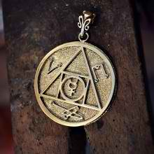 Mercury Conjunct Bungula Talisman Gold ` (*Limited Edition*)