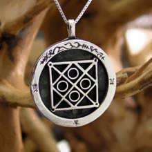 Mercury CAZIMI Talisman pendant