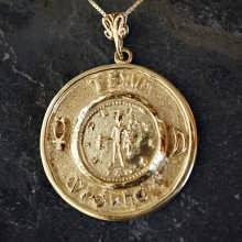 Mercury Practical Wisdom Talisman Gold (*Last Two!*)