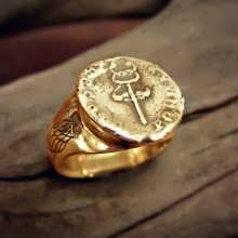 Mercury Practical Wisdom Ring Gold (*Limited Edition*)