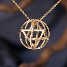 Merkaba Prana Sphäre Medium, Gold