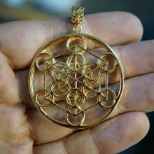 Metatron Cube 24K gold