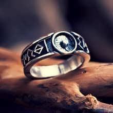 Кольцо «Монада», серебро