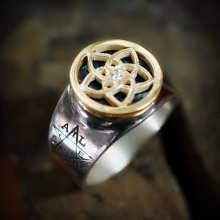 Pentalpha (Venus) Ring Silver and Gold (*Limited Edition*)