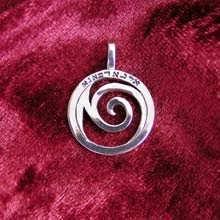 Healing Rafa Pendant Small Silver