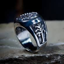טבעת המורד כסף