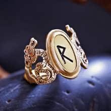 Die Runen - Goldring