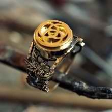 טבעת מים קדושים כסף וזהב (*מהדורה מוגבלת*)