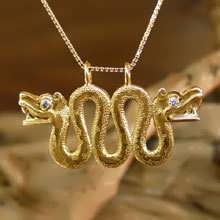 Double-Headed Serpent Gold