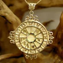 Personalized Cosmic Sigil Talisman - Gold