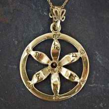 Solar Flower Equinox Talisman Gold (*Limited Edition*)