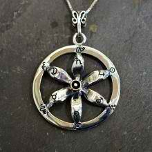 Solar Flower Equinox Talisman Silver and Gold (*Pre Order*)
