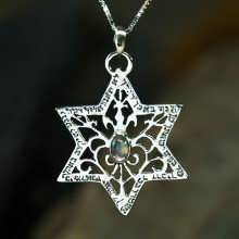 Star of David For Protection Silver