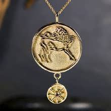 Sun in Leo Talisman Pendant Gold 14K (*Last One!*)