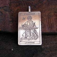 Кулон «Таро: Верховная Жрица», серебро