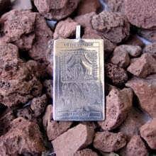 Кулон «Таро: Колесница», серебро