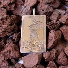 Tarot Narr Karten Anhänger Silber