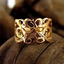 This Too Shall Pass Ring Gold