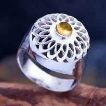 Torus Knot Ring Silver