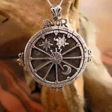 Talismano Trinità personalizzato in argento