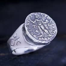 Uranus in Aries Talisman Ring Silver (*Sold Out!*)