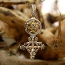 Divine Love Talisman (Venus in Pisces) Silver and Gold with Diamond (*Limited Edition*)
