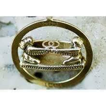 Vesica Pisces Gold