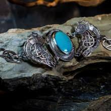 Braccialetto Viking's freedom - argento