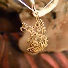The Song of The Woods Pendant Gold
