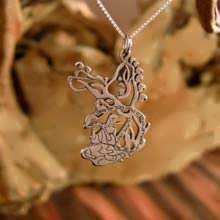 The Song of the Woods pendant Silver