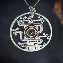 Mayan World Tree Pendant