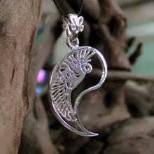 The Yin Pendant Silver