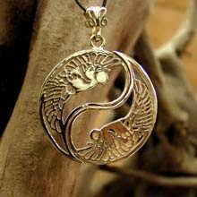 The Yin Yang Gold Pendant