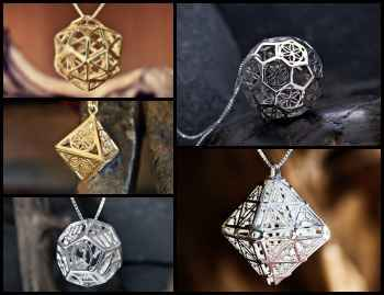 Platonic Solids Related Designs