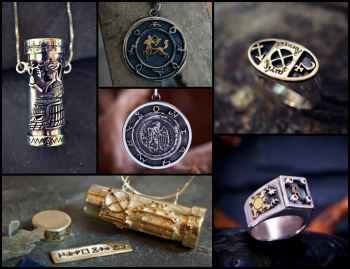 Jupiter and Spica Talismans New Editions