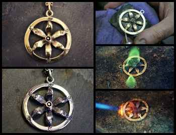 New Solar Flower Equinox Talisman
