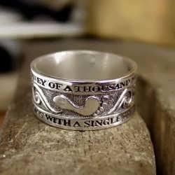 Thousand Miles Journey Ring