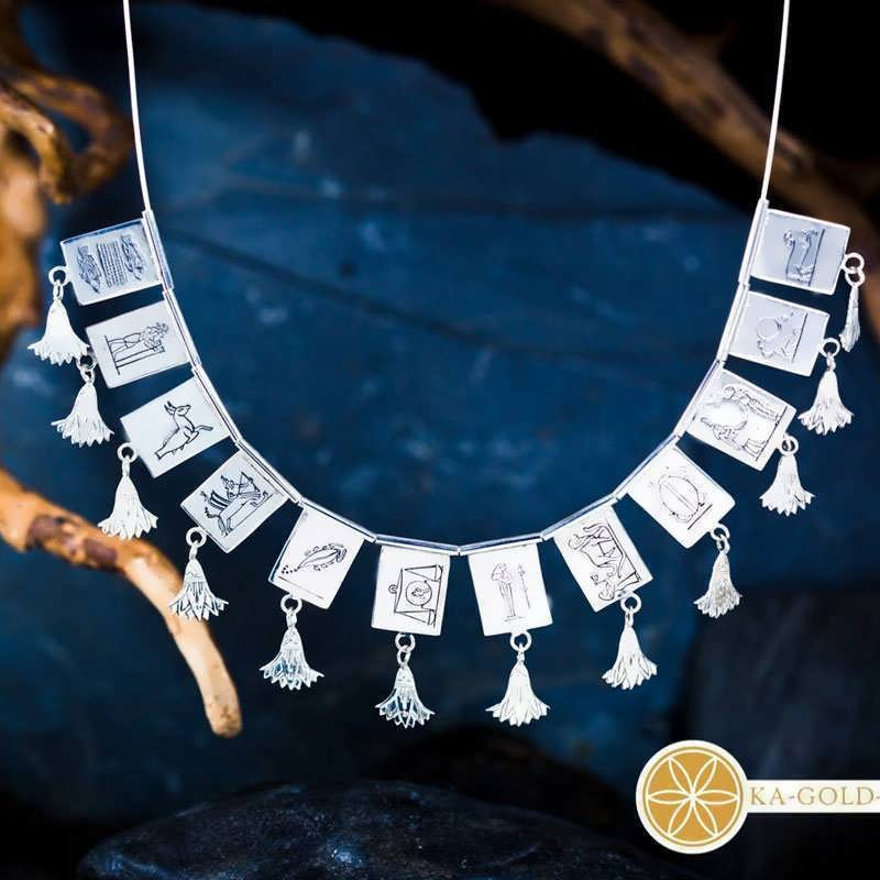 The Egyptian Zodiac Necklace