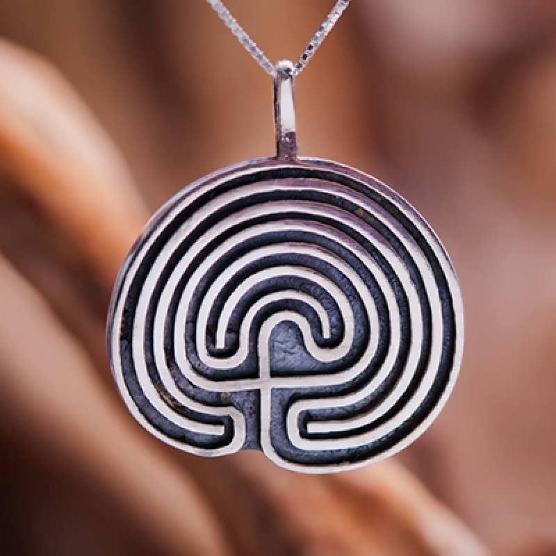 The seven fold Labyrinth
