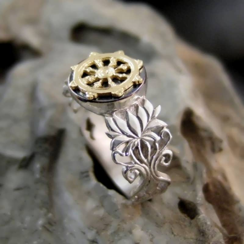 The Finished Dharma Ring and a Turtle Story