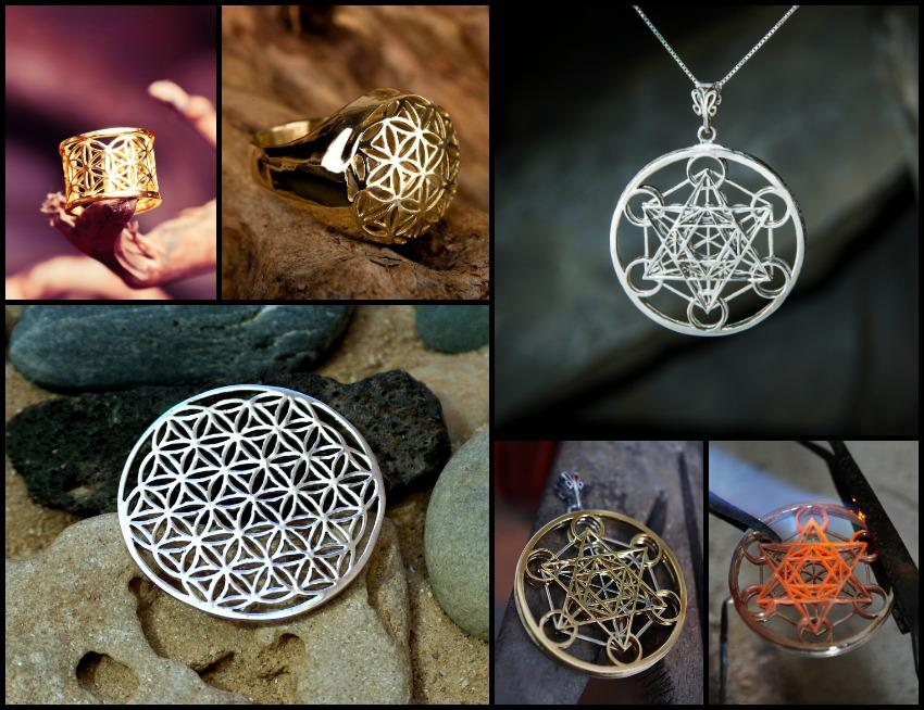 Flower of Life and Metatron's Cube