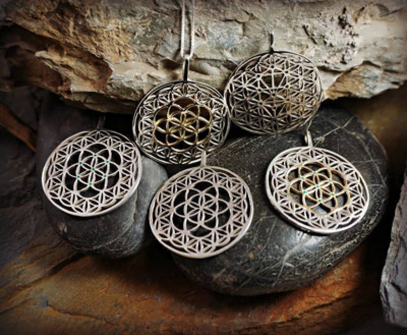 A showcase of the new Wonderful Flower of Life Designs