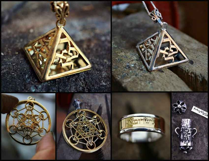 New Four Angels Amulet and related Designs