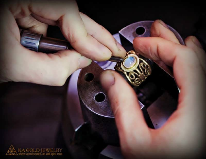 Working on the I love Therefore I Am Ring