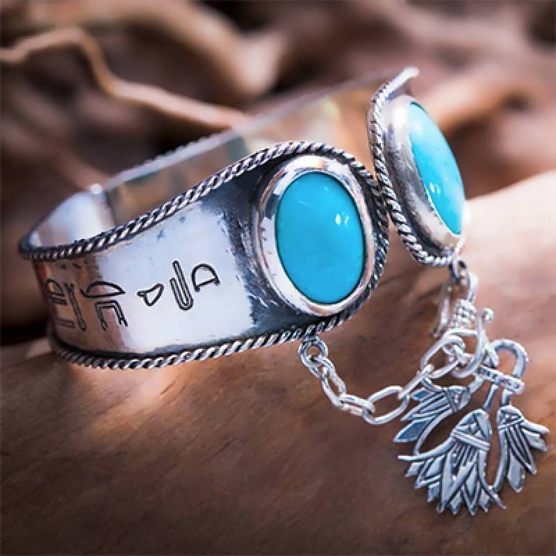 "An Egyptian ""Ka"" bracelet"