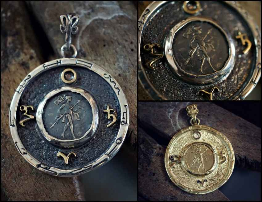 New Rare Mars Saturn Talisman