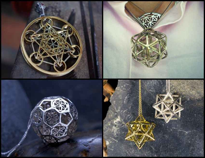 Metatron's Cube + Christ Grid Special