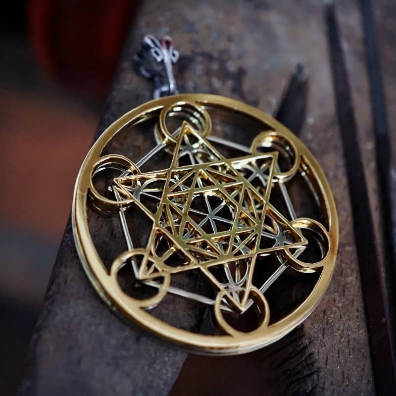 Just Finished the New Metatron's Cube Design