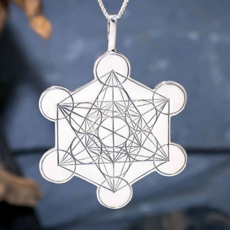 New Article - Metatron's Cube and The Platonic Solids