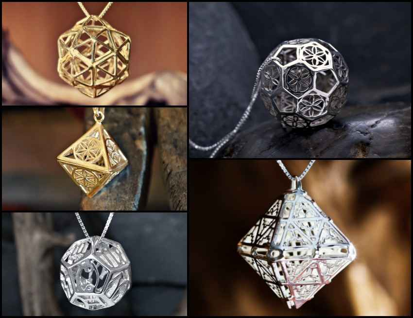 Platonic Solids Five Exquisite